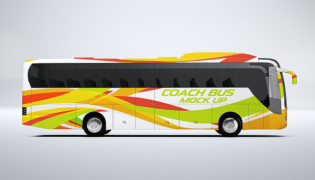 Coach Bus Wrap